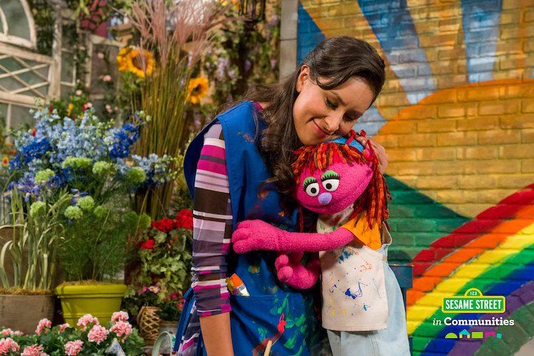 Lily and Sofia Homelessness Sesame Street