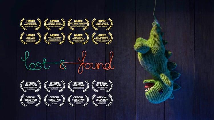 Lost&Found Goldy Dinosaur Unravel