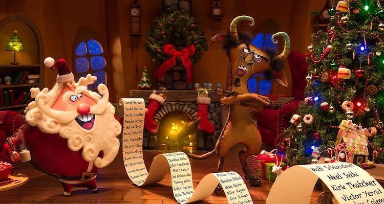 Merry Christmas Krampus Kickstarter Book