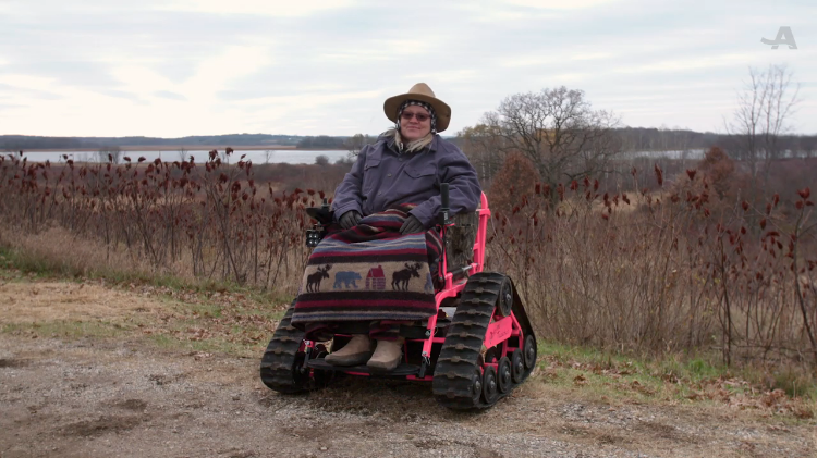 A Remarkable Woman Who Offers the Free Use of Off-Road Wheelchairs for Everyone to Explore the Outdoors