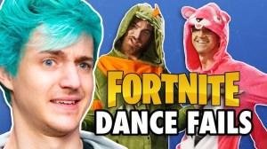 Rhett and Link Ninja Fortnight Dance Contest