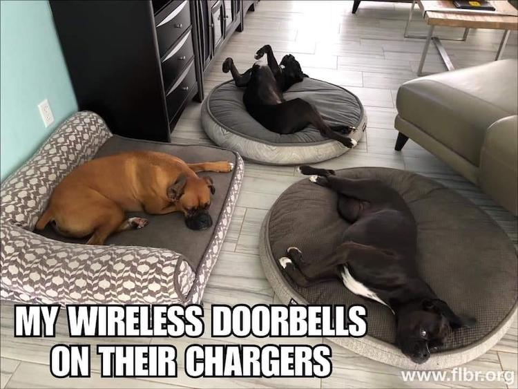 Wireless Doorbells Charging