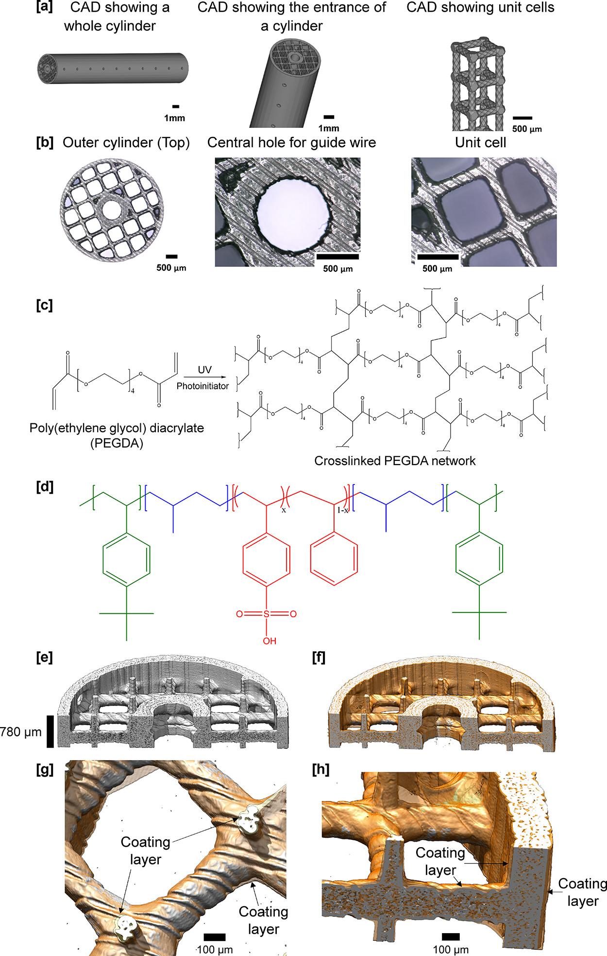 3D Printed Chemo Sponge Diagram