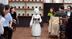A Pop-Up Japanese Cafe With Robot Servers