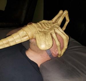 Alien Facehugger CPAP Mask