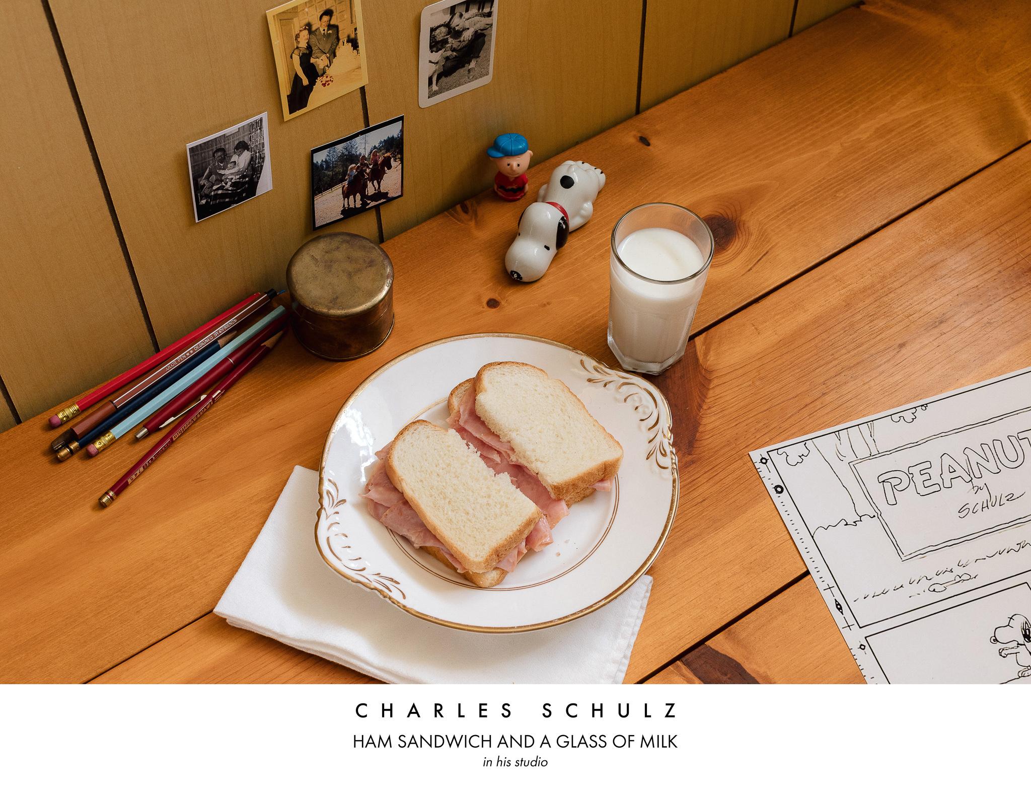 Charles Schulz Ham Sandwich