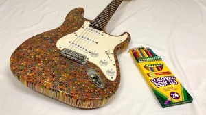 Colored Pencils Guitar