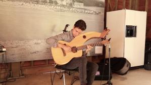 Comfortably Numb & Hotel California Live - Harp Guitar - Jamie Dupuis