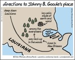 Directions to Johnny B. Goode's Place