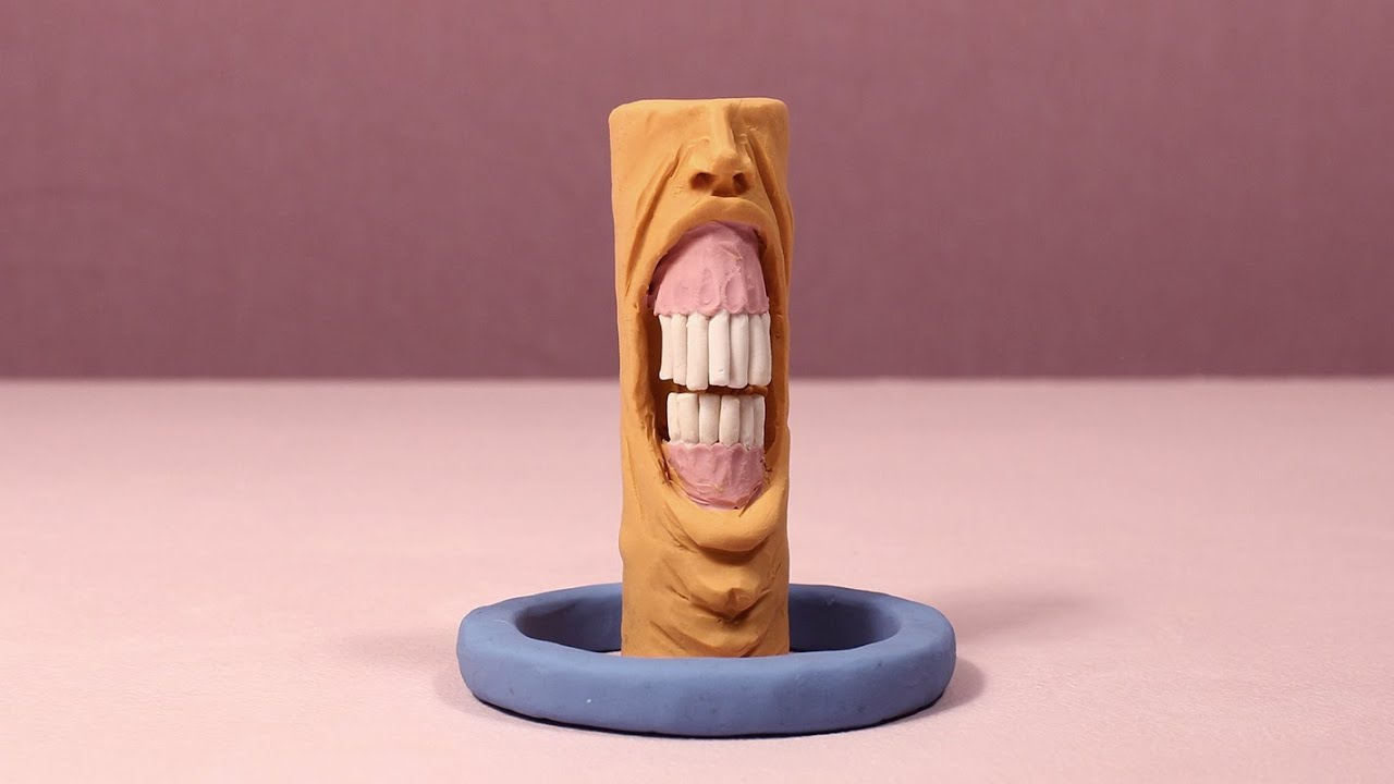 Surreal Clay Creatures Interact in Brilliant Stop Motion Animation 'Distortion' Created Using 2500 Still Pictures