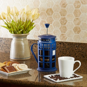 Doctor Who TARDIS Coffee Press Counter