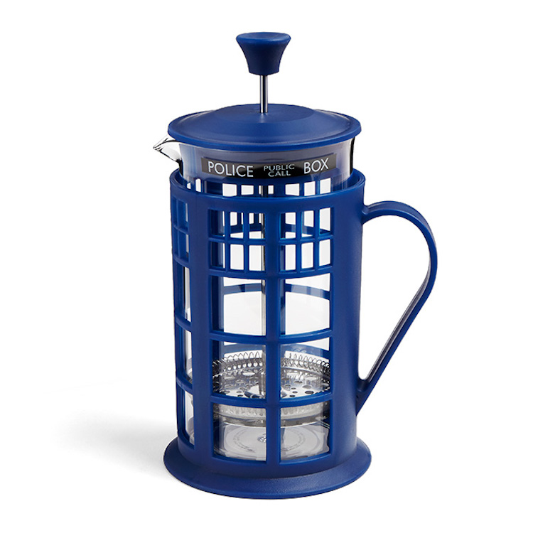 Doctor Who TARDIS Coffee Press Side