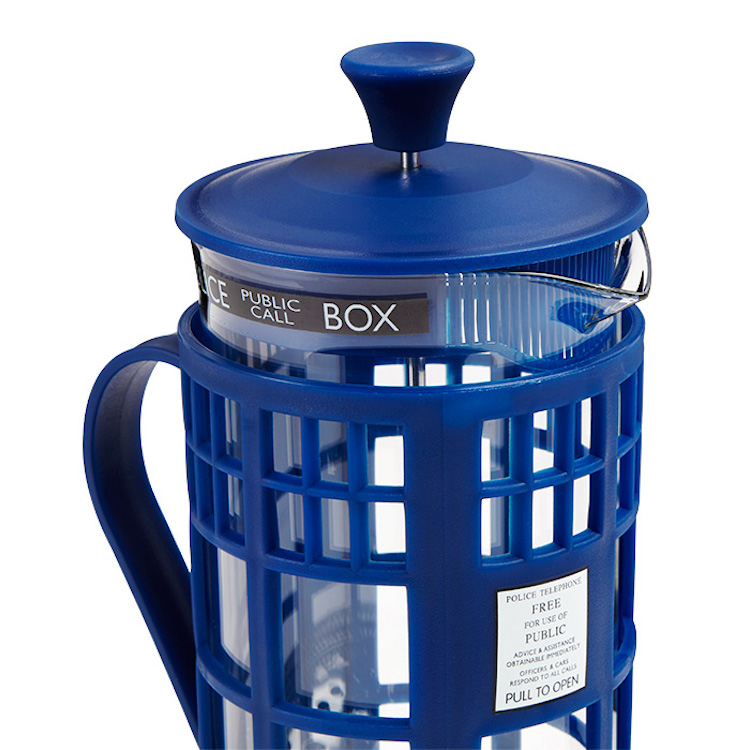 Doctor Who TARDIS Coffee Press Top