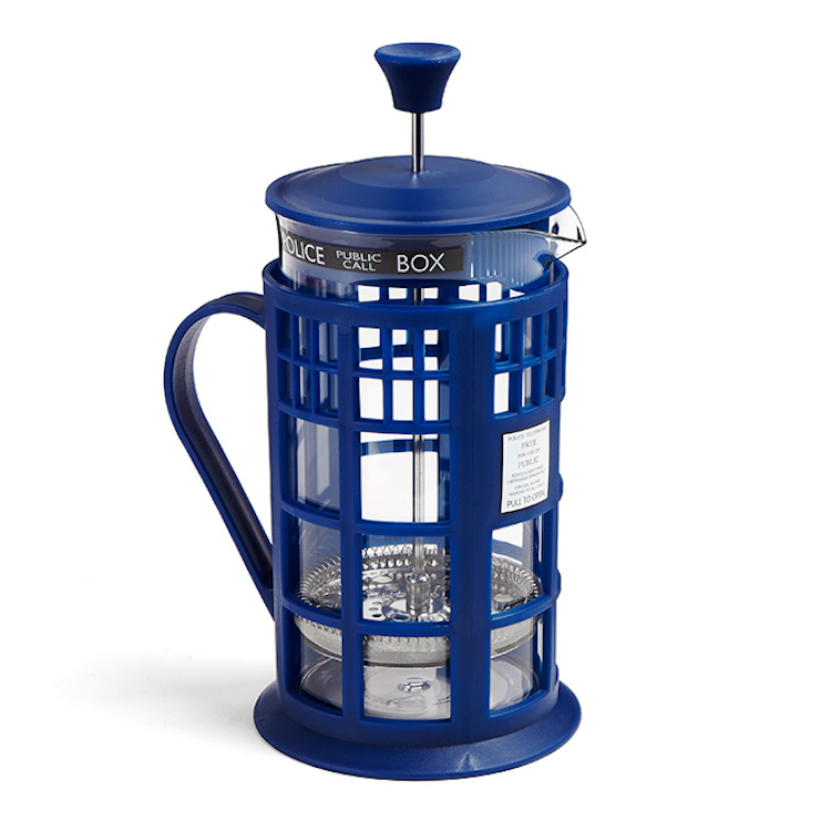 Doctor Who Tardis French Press