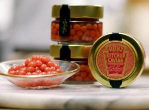 Heinz Ketchup Caviar Contest