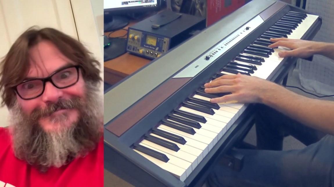 Jack Black Piano Accompaniment 1 Million YouTube Subscribers