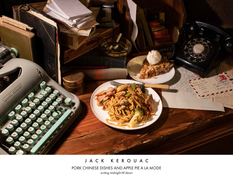 A Whimsical Photo Series That Imagines Meals Based on the Researched Eating Habits of Famous Artists