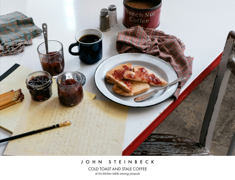 John Steinbeck Cold Toast and Stale Coffee