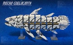 LEGO Mecha Coelacanth