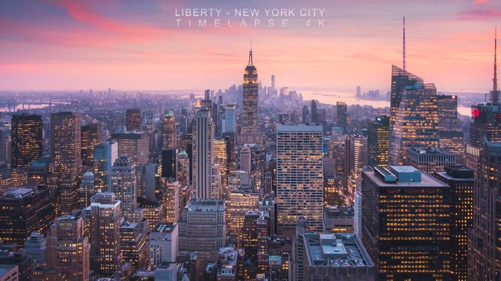 Liberty Michael Shainblum NYC Timelapse
