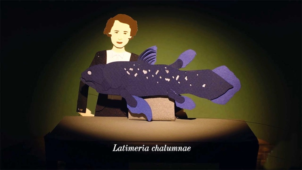 Living Fossil Fish Animation