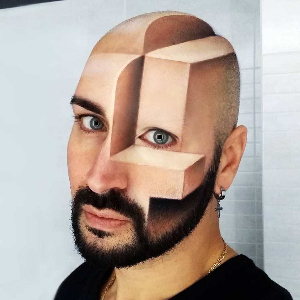 Luca Luce 3D Optical Illusion