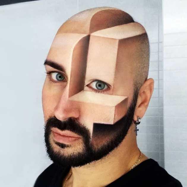 Luca Luce 3D Optical Illusion