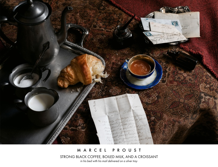 Marcel Proust Breakfast in Bed