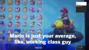 Mario Working Class Guy