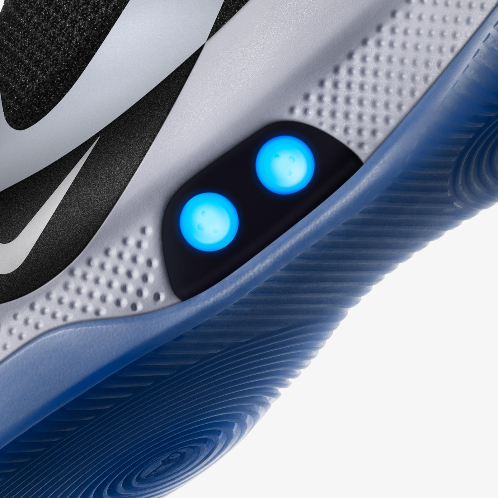 Nike Adapt BB touch fit button