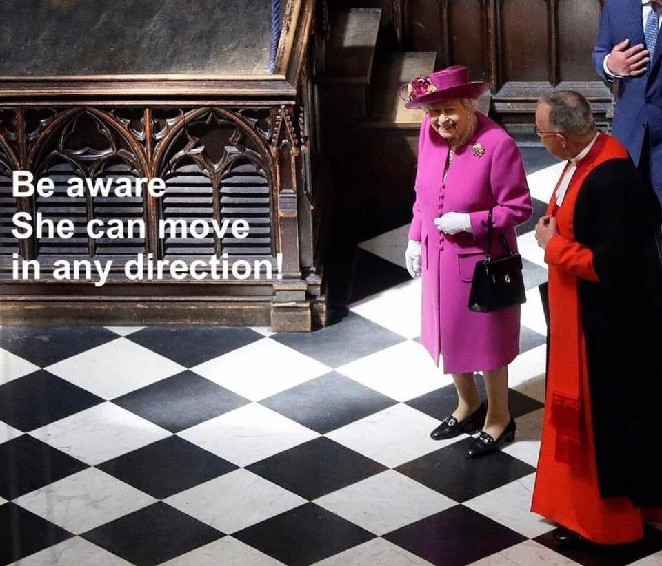 Queen Chess Move