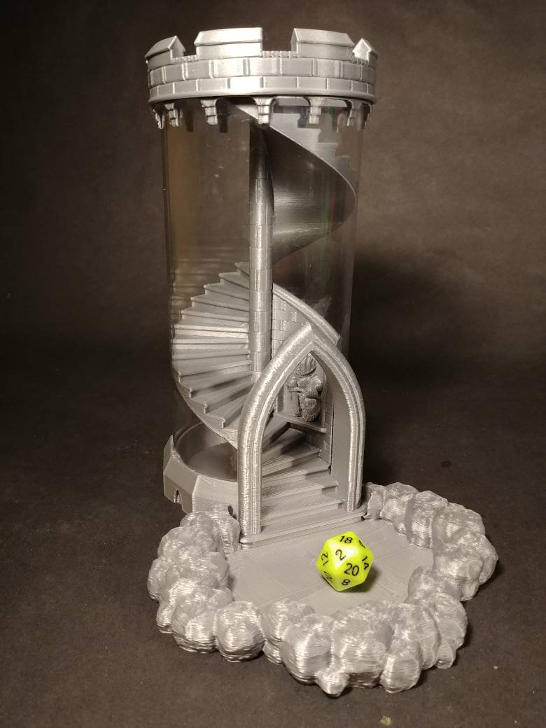 Stackable Dice Tower