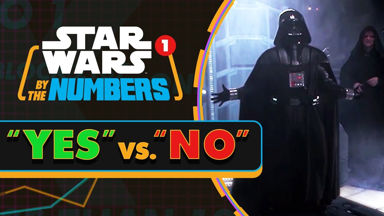 How Many Times the Words 'Yes' and 'No' Are Said Throughout Every Film Within the Star Wars Franchise