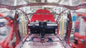 Tesla 3 Assembly Line Timelapse