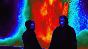 Thermal View of a Geyser