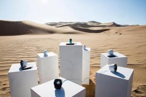 Toto Forever 6 Speaker Sound Installation Namib Desert Africa