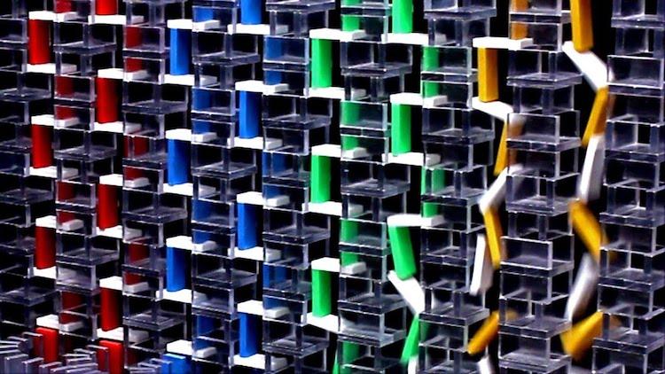 Vertical Stair Dominoes