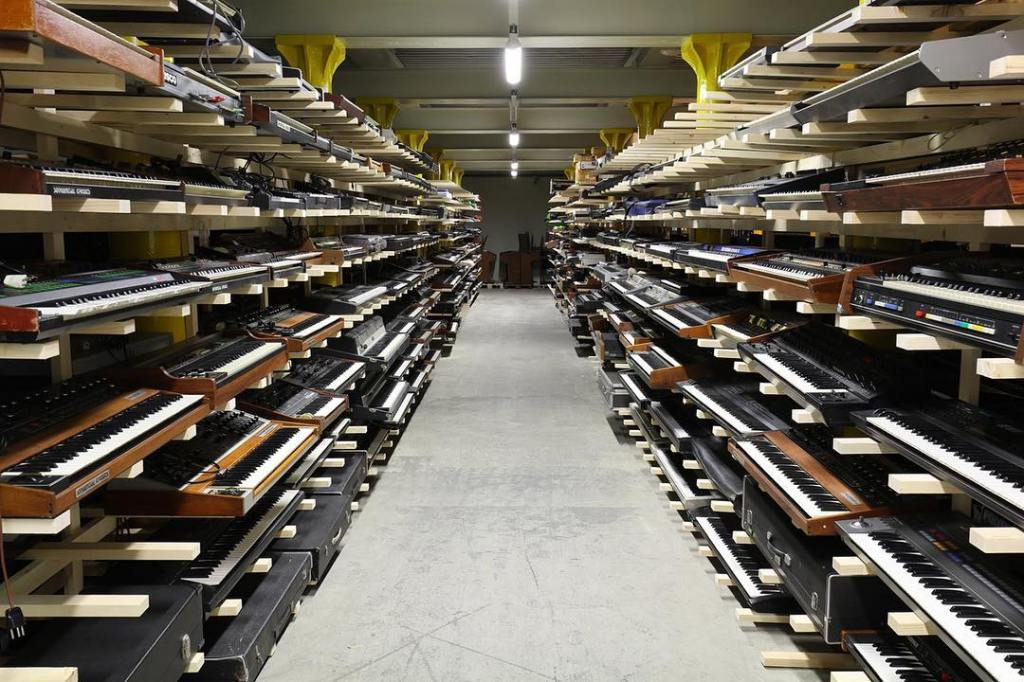 World's Largest Collection of Synthesizers