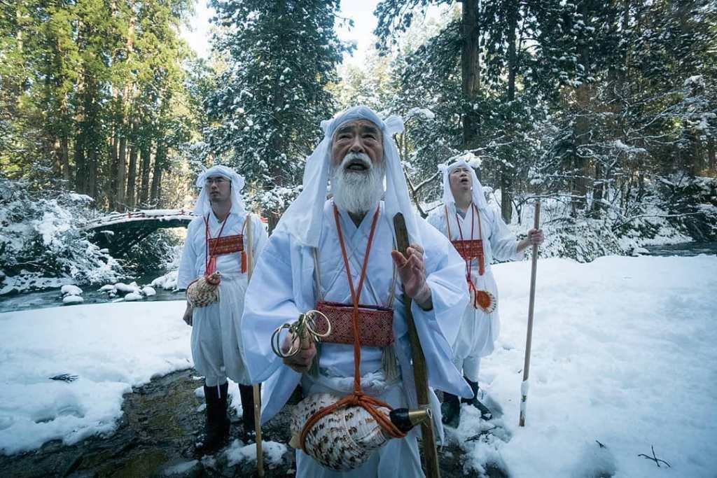 Yamabushi Mountain Monks Fritz Schumann Japan