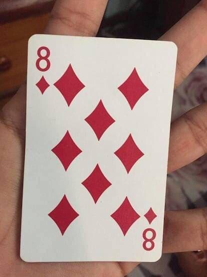 Eight Hidden in Eight of Diamonds