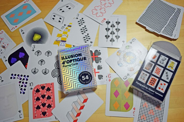 Gianni Sarcone Optical Illusion Cards