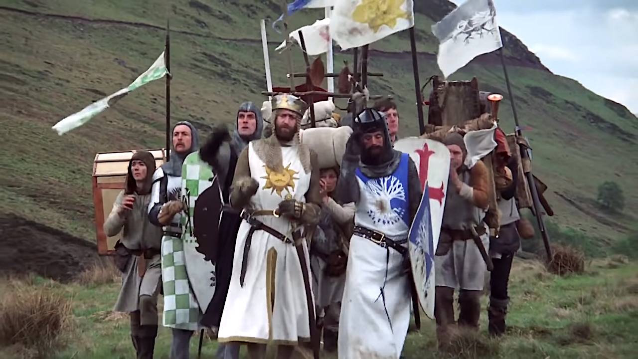 How Monty Python's Mix of Postmodern Absurdity and Political Satire Influenced Shows Like 'Rick and Morty'