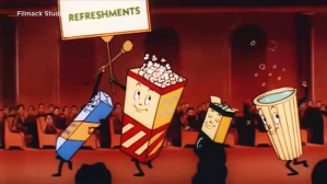 How Popcorn Went From Banned to Saving Movies - Cheddar Explains