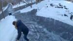 Icy Driveway Jeffrey Takash Slide
