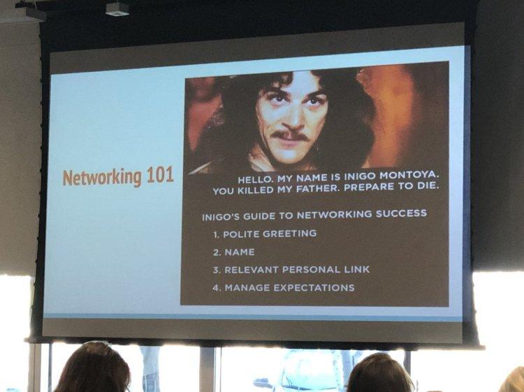 Inigo Montoya's Guide to Networking Success