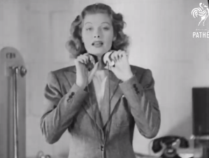 Machine Made Voices! (1939) Lucille Ball
