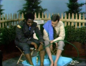 Mister Rogers Officer Clemmons Foot Soak