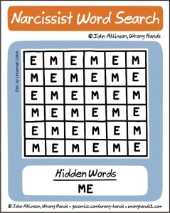 Narcissist Word Search