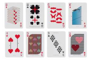 Optical Illusion Playing Cards