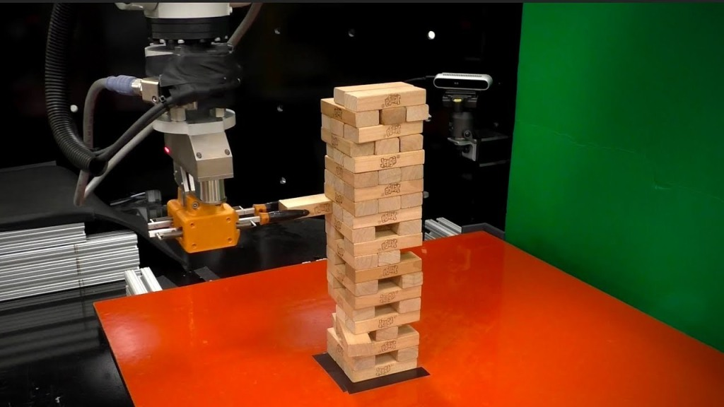Robot Machine Learning Game Jenga